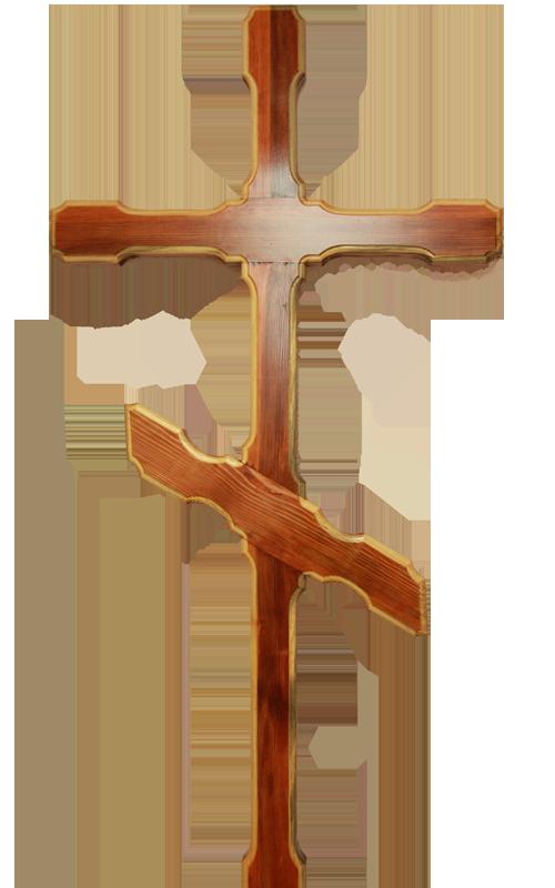 Деревянный могильный крест своими руками